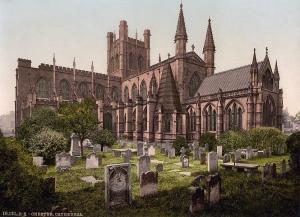 chester ctahedral graveyard