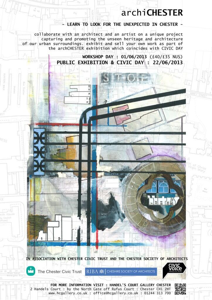 archiCHESTER exhibition poster