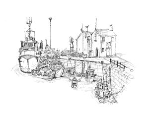 Stromness Harbour - Orkney