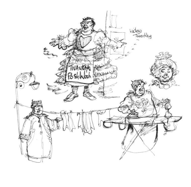 Chester Pantomime 6 - Widow Twanky