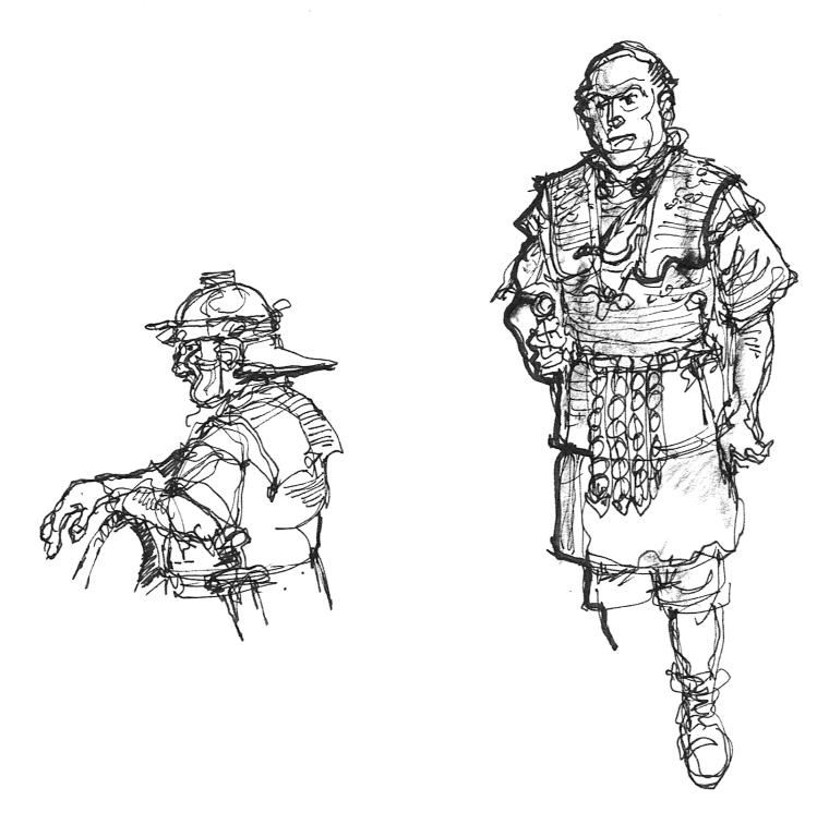 Saturnalia - 4 - Roman Legionaries