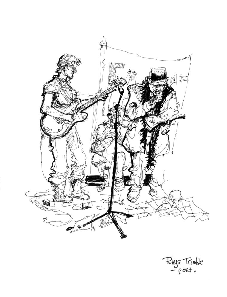 Rhys Trimble poet - Absurd Festival