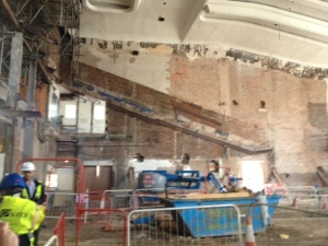 first look inside the old Odeon Cinema
